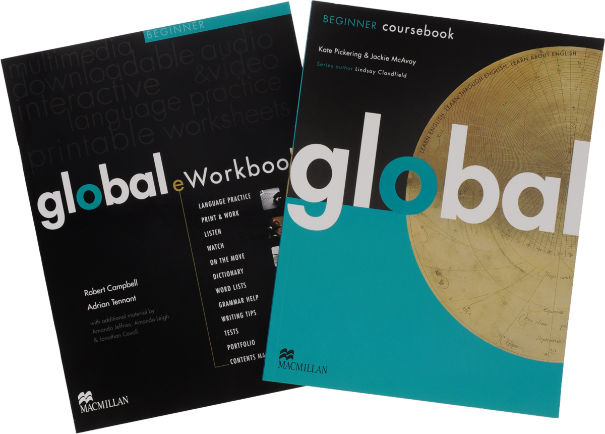 Global Beginner Coursebook +eWorkbook Pack global intermediate coursebook global business class eworkbook dvd rom комплект из 2 книг