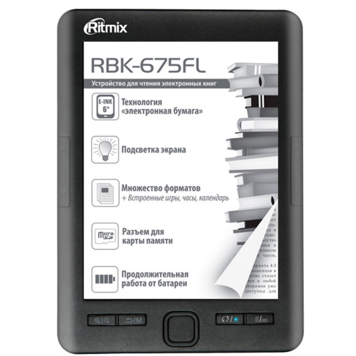 Ritmix RBK-675FL электронная книга french connection fr003ewqdv15 french connection
