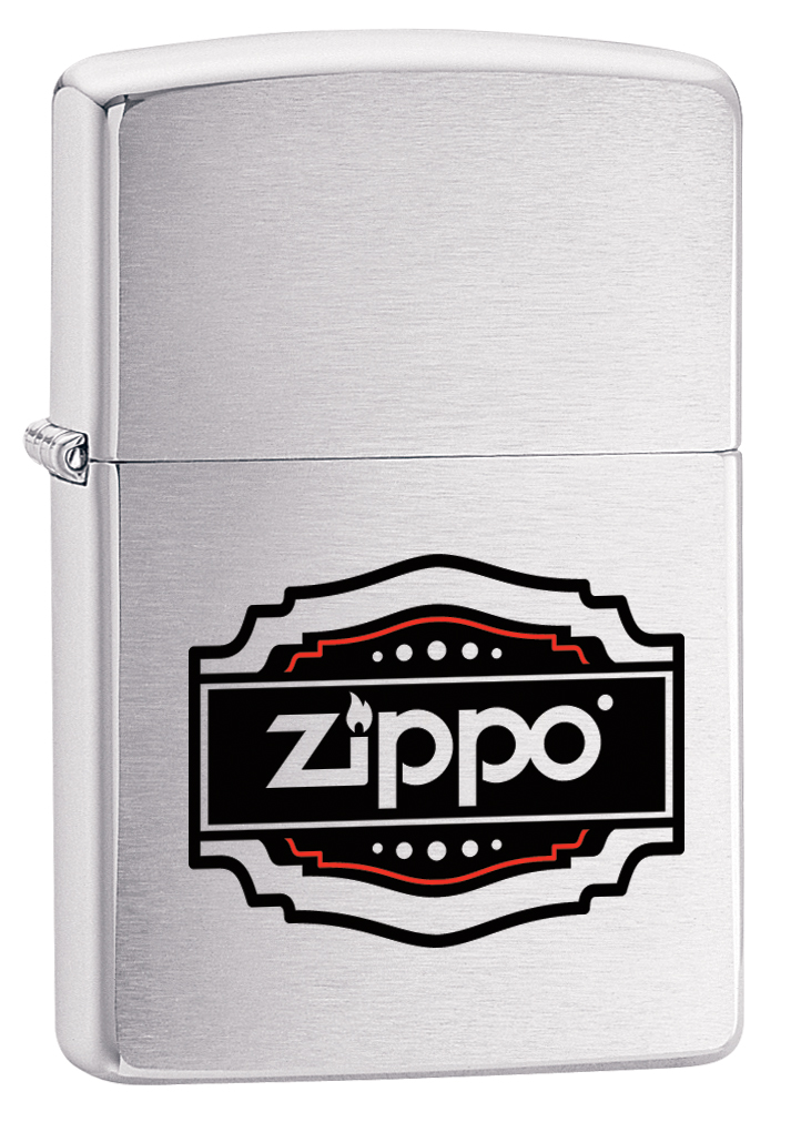 """Зажигалка Zippo """"200 Vintage"""", 3,6 х 1,2 х 5,6 см"""