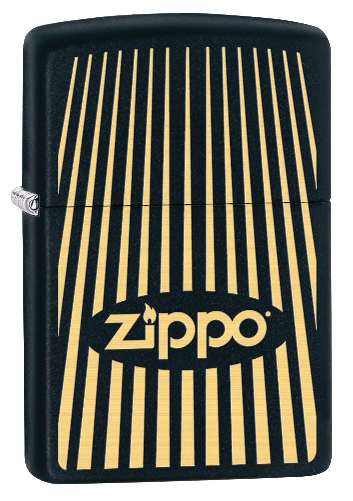 Зажигалка Zippo 218 Zippo, цвет: матовый черный. 29218