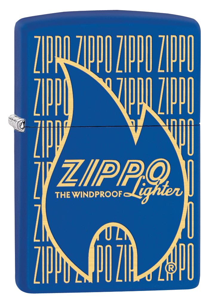 Зажигалка Zippo 229 Zippo Logo Variation, 3,6 х 1,2 х 5,6 см zippo зажигалку в архангельске