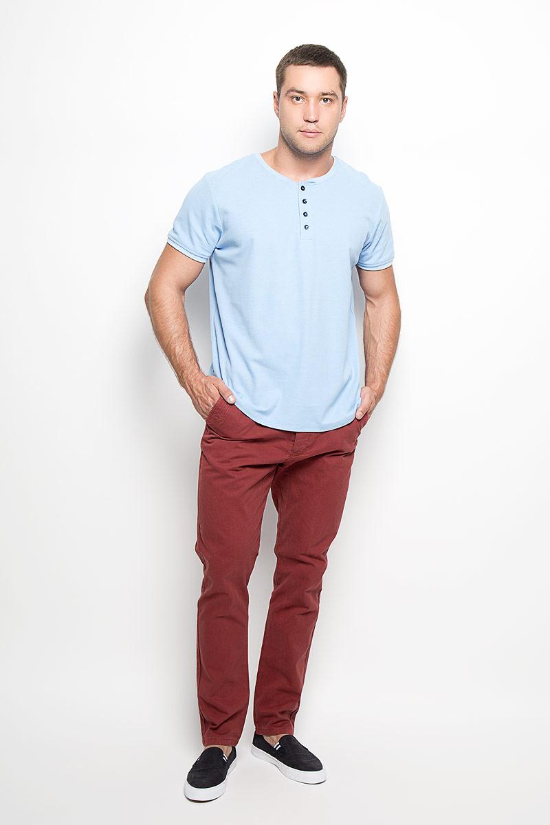Брюки мужские Top Secret, цвет: бордовый. SSP2198CE. Размер 33 (48/50)