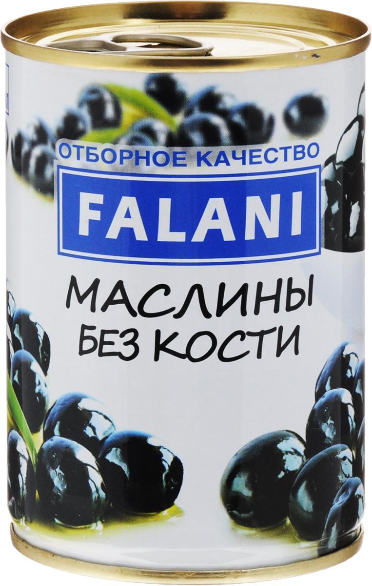 FALANI маслины без косточки, 280 г lutik маслины без косточки 314 мл