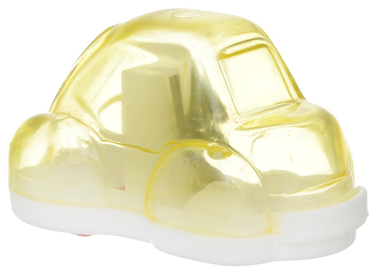 Action! Точилка Авто цвет желтыйFSH370_желтыйТочилка Action! Авто предназначена для заточки чернографитных и цветных карандашей.Точилка изготовленная из пластика, с одним отверстием и контейнером. Полупрозрачный контейнер для сбора стружки повышенной вместимости позволяет визуально контролировать уровень заполнения и вовремя производить очистку.Для увеличения срока службы точилки производите ее очистку после каждой заточки карандаша.