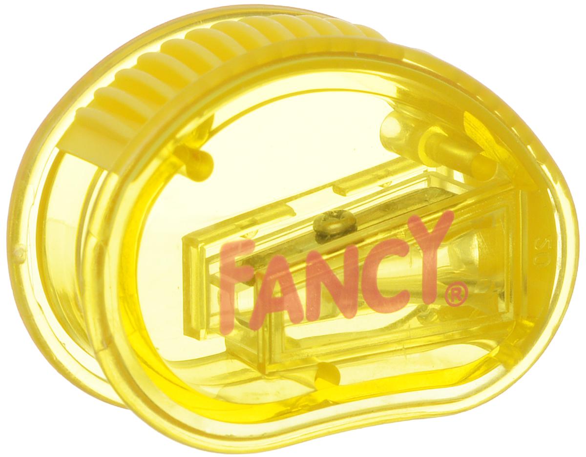 Action! Точилка Рикки-Тикки цвет желтыйFSH350_желтыйТочилка Action! Рикки-Тикки предназначена для заточки чернографитных и цветных карандашей.Точилка изготовленная из пластика, с одним отверстием и небольшим контейнером. Полупрозрачный контейнер синего цвета для сбора стружки позволяет визуально контролировать уровень заполнения и вовремя производить очистку.