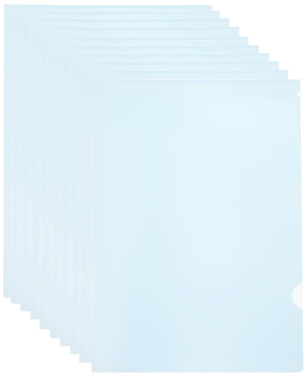 Durable Папка-уголок цвет прозрачный 10 шт2197-19/10Папка-уголок Durable выполнена из высококачественного полипропилена.Специальная удобная выемка для перелистывания листов облегчает работу с документами. Плотность 180 микрон.Папка-уголок - это незаменимый атрибут для студента, школьника, офисного работника. Такая папка надежно сохранит любые бумаги и сбережет их от повреждений, пыли и влаги.В наборе 10 глянцевых папок прозрачного цвета.