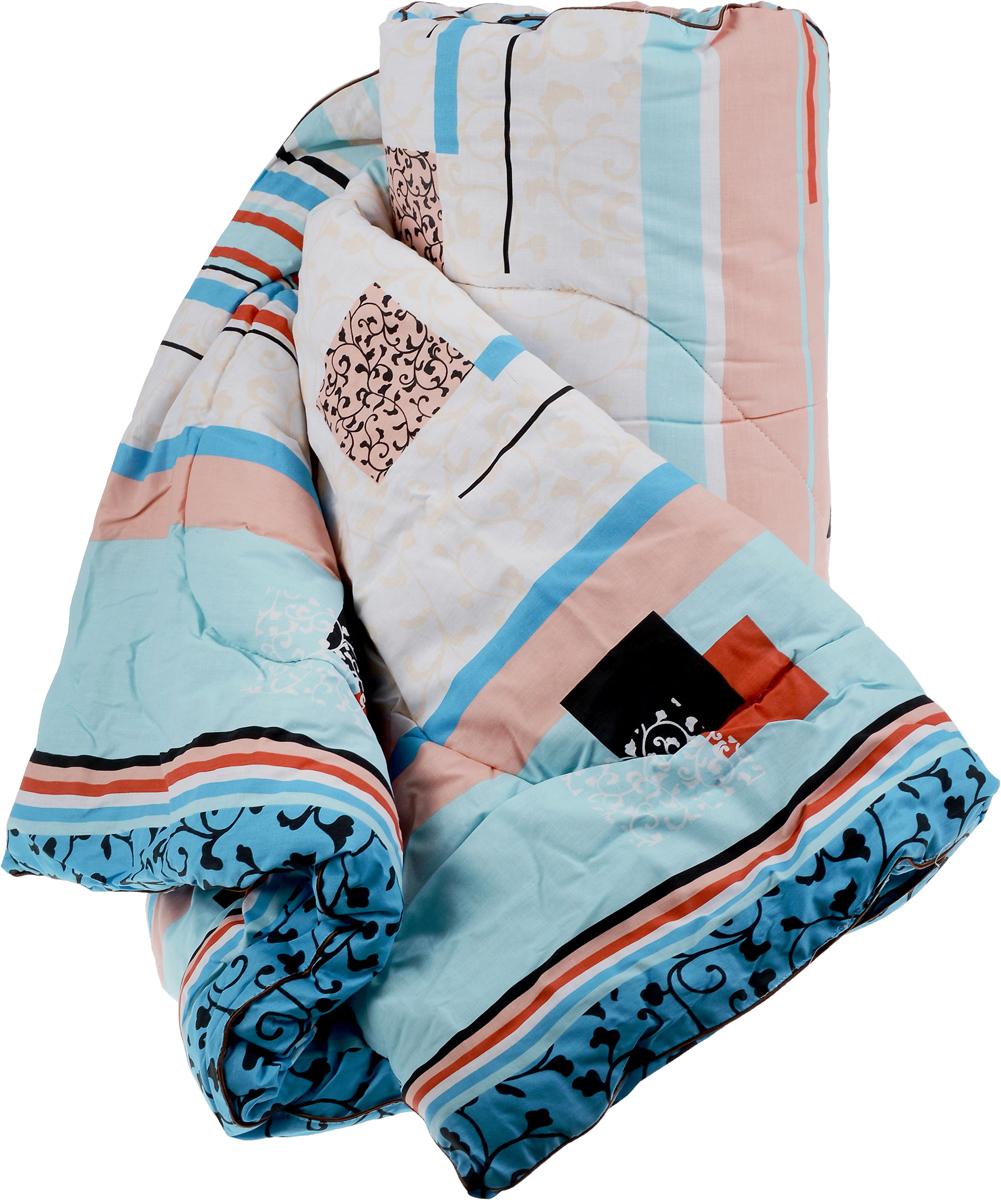 Одеяло теплое Легкие сны, наполнитель: овечья шерсть, цвет: голубой, персиковый, 172 х 205 см. 172(32)04-ОШ172(32)04-ОШ_голубой, персиковыйТеплое одеяло Легкие сны с наполнителем из шерсти овцыобеспечивает сухое тепло за счет природной особенностиматериала. Волокна в нем не прямые, а состоят из завитков,которые способствуют удержанию воздуха, делая изделиепышным, мягким и легким.Чехол одеяла изготовлен из натурального хлопка. Дышащиесвойства шерсти позволяют использовать изделие дажелюдям, страдающим аллергией. Теплое одеяло Легкие сны благотворно влияет на суставы,снимает нервное напряжение. Оно идеально подойдет тем,кто ценит мягкость и комфорт. Одеяло простегано иокантовано. Стежка надежно удерживает наполнитель внутрии не позволяет ему скатываться. Материал чехла: 100% хлопок. Наполнитель: овечья шерсть.Плотность наполнителя: 300 г/м2. Размер изделия: 172 х 205 см.