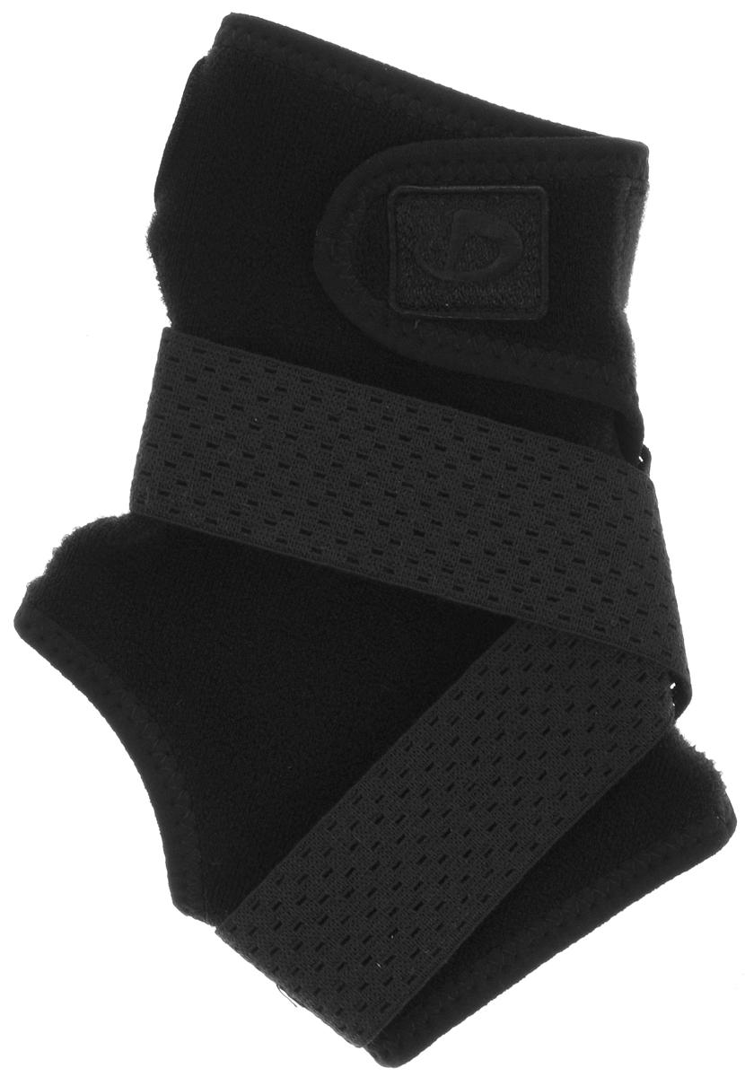 Суппорт голеностопа Phiten Ankle. Hard Type. Размер М (22-26 см)