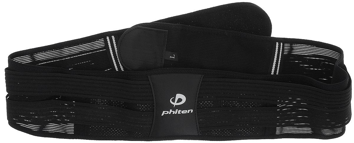 Суппорт спины Phiten Day Fit Waist Half Adjustable. Размер L (95-115 см)