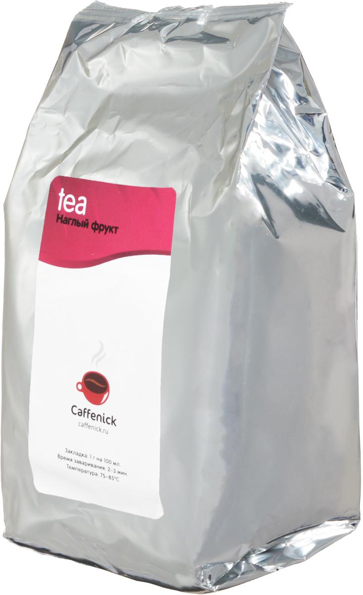 Caffenick Наглый фрукт фруктовый листовой чай, 500 г4610001573203Фруктовый чай Caffenick Наглый фрукт с гибискусом, ананасом, яблоком, черноплодной рябиной и шиповником.