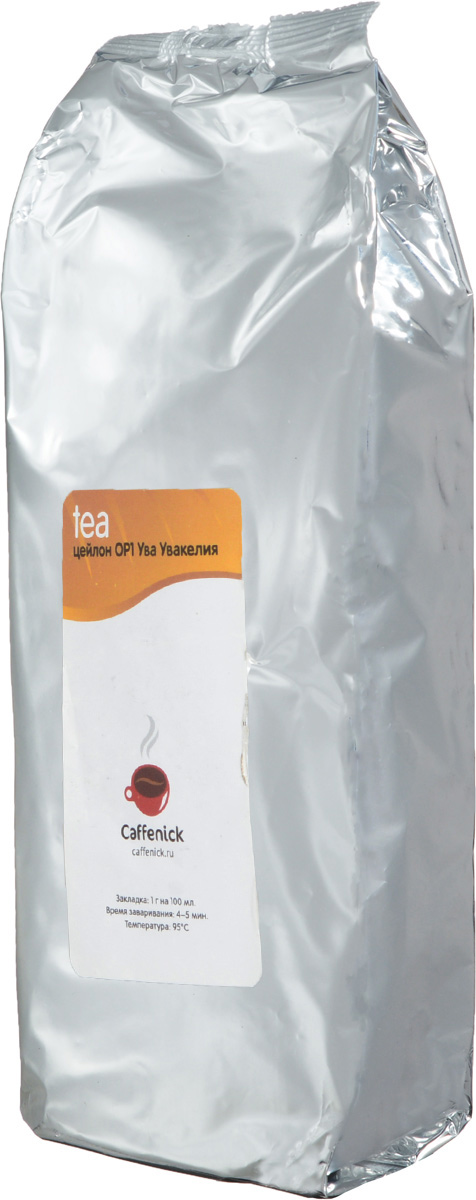 Caffenick Цейлон Ува Увакелия черный листовой чай, 500 г caffenick caffenick дарджилинг 500