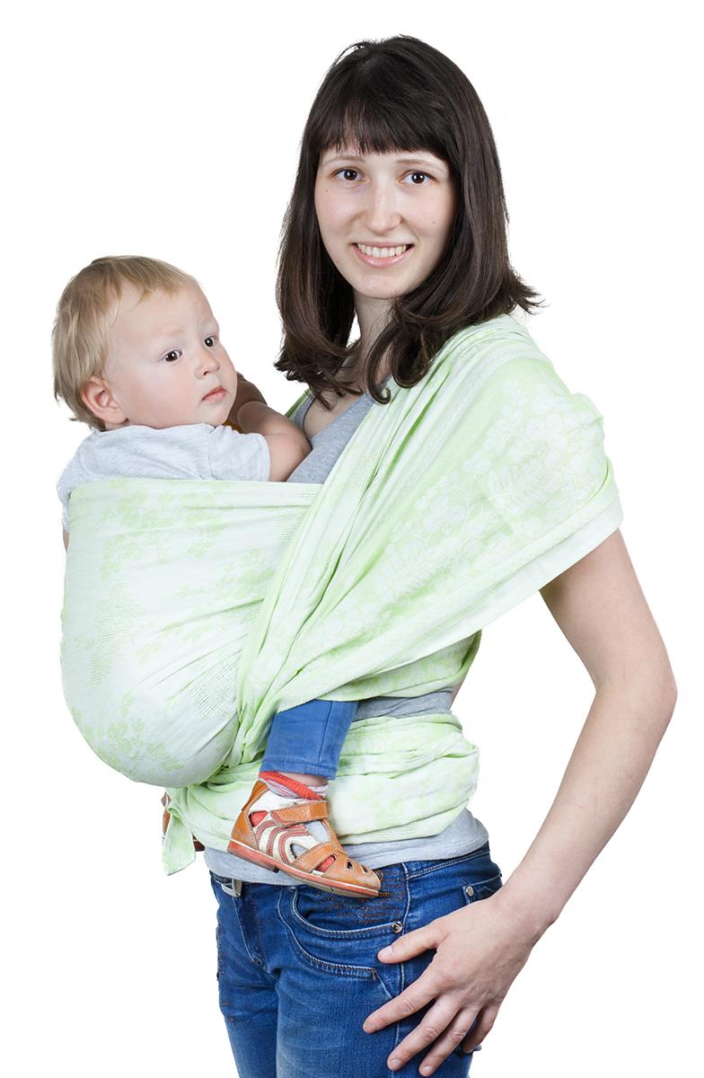 Чудо-Чадо Слинг-шарф Герба цвет зелень