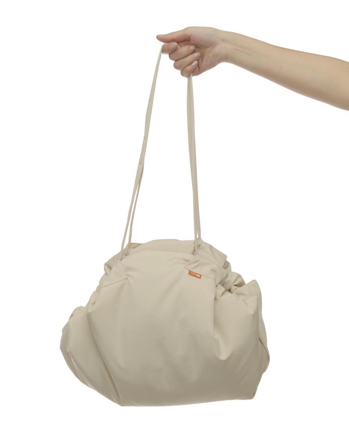 Чудо-Чадо Переносной коврик-сумка цвет бежевый клетка Поиграли, сложили коврик – и игрушки готовы переноске!...