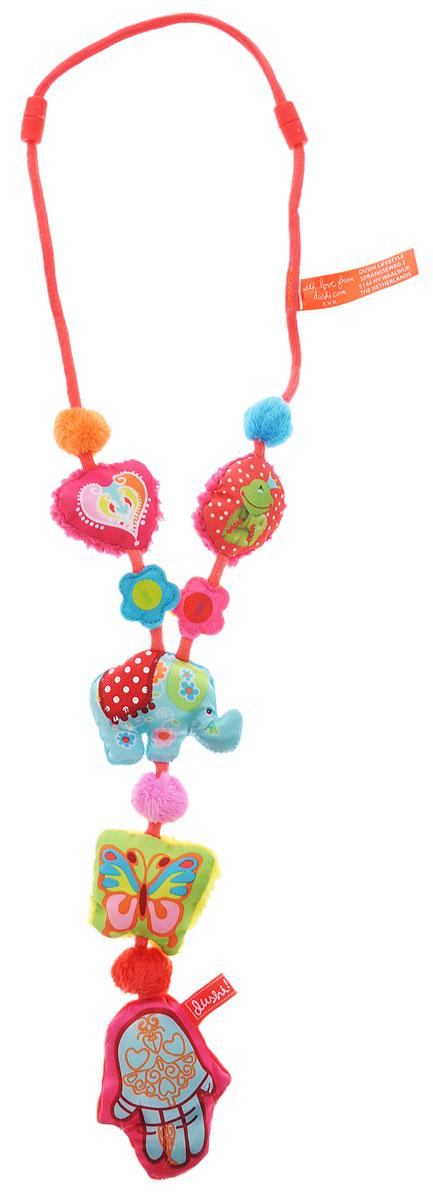 Dushi Ожерелье для мамы Индия жен ожерелья с подвесками мода этнический перо кофейный красный синий 70cm ожерелье назначение праздники для улицы