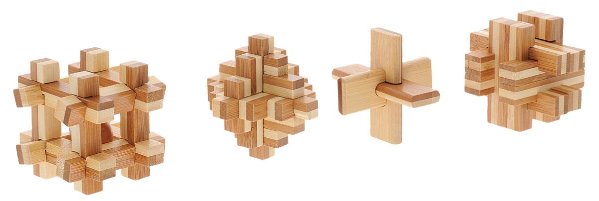 Professor Puzzle Набор головоломок Бамбузлеры 4 шт