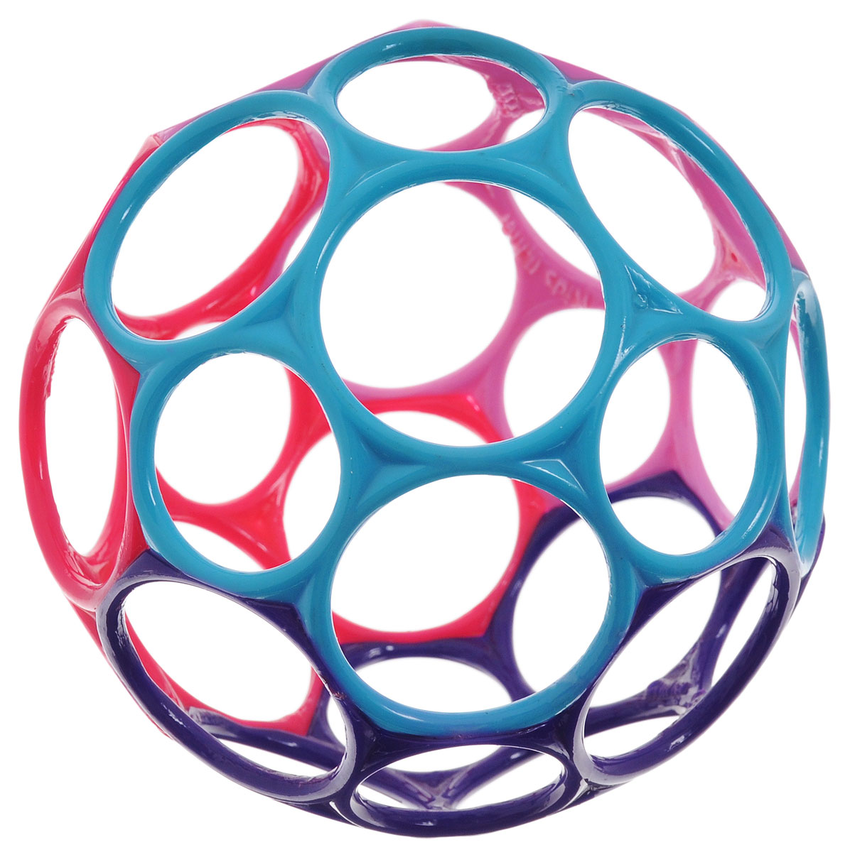 Oball Развивающая игрушка Мячик цвет фиолетовый голубой розовый головоломки oball развивающая игрушка на присоске oball