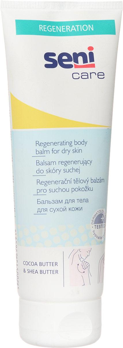 Seni Care Бальзам для тела, для сухой кожи, 250 млSE-231-T250-211Бальзам для тела Seni Care оказывает на кожу успокаивающее действие, уменьшает шероховатость, устраняет чрезмерное шелушение и оказывает регенерирующее действие. Кожа становится более мягкой и эластичной, имеет приятный запах.Способ применения: нанести легкими массирующими движениями на предварительно очищенную кожу. Характеристики:Объем: 250 мл. Размер упаковки: 4,8 см х 7,3 см х 19,8 см. Артикул: SE-231-T250-211. Товар сертифицирован.