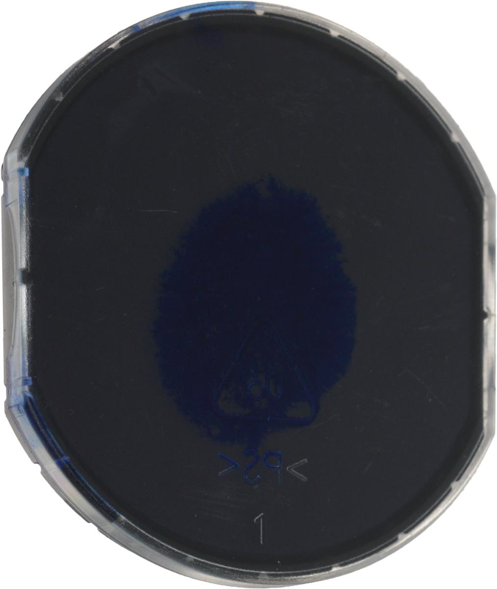 Colop Сменная штемпельная подушка E/R50 цвет синийE/R50c/colopСменная штемпельная подушка Colop E/R50 предназначенадля продукции Colop. Произведена в Австрии с учетомтребований российских и международных стандартов. Заменаштемпельной подушки необходима при каждом изменениитекста в штампе. Заправка штемпельной краской нерекомендуется. Гарантирует не менее 10 000 четких оттисков.Подходит для кода С10886, С10879, цвет краски - синий.