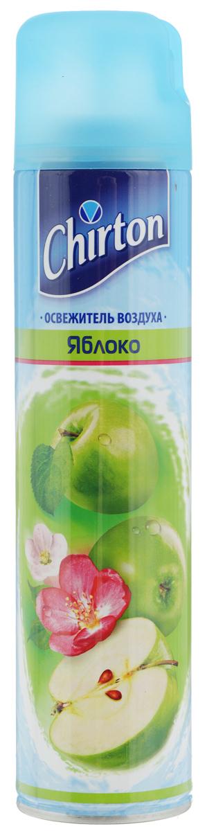 Освежитель воздуха Chirton, яблоко, 300 мл30365Освежитель воздуха Chirton позволит быстро избавиться от неприятных запахов в любом уголке вашего дома. Легко устраняет неприятные запахи, надолго наполняя дом неповторимым нежным ароматом. Товар сертифицирован.