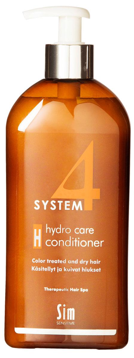 SIM SENSITIVE Терапевтический бальзам H SYSTEM 4 Hydro care Conditioner «Н» , 500 мл sim sensitive восстановление волос r system 4 chitosan hair repair r 100 мл
