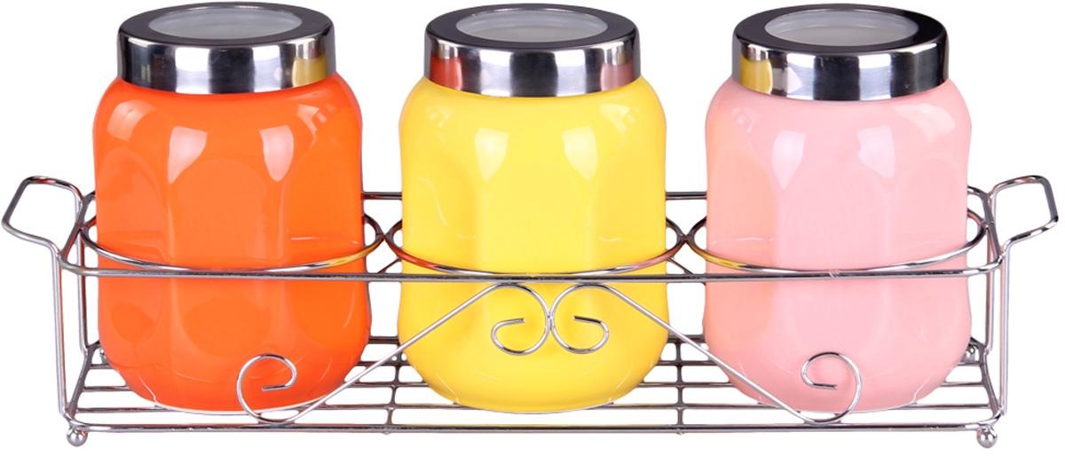 Набор банок Patricia, 3 предмета. IM99-5225 набор эм 3 предмета 11 ягодный чай 1078086