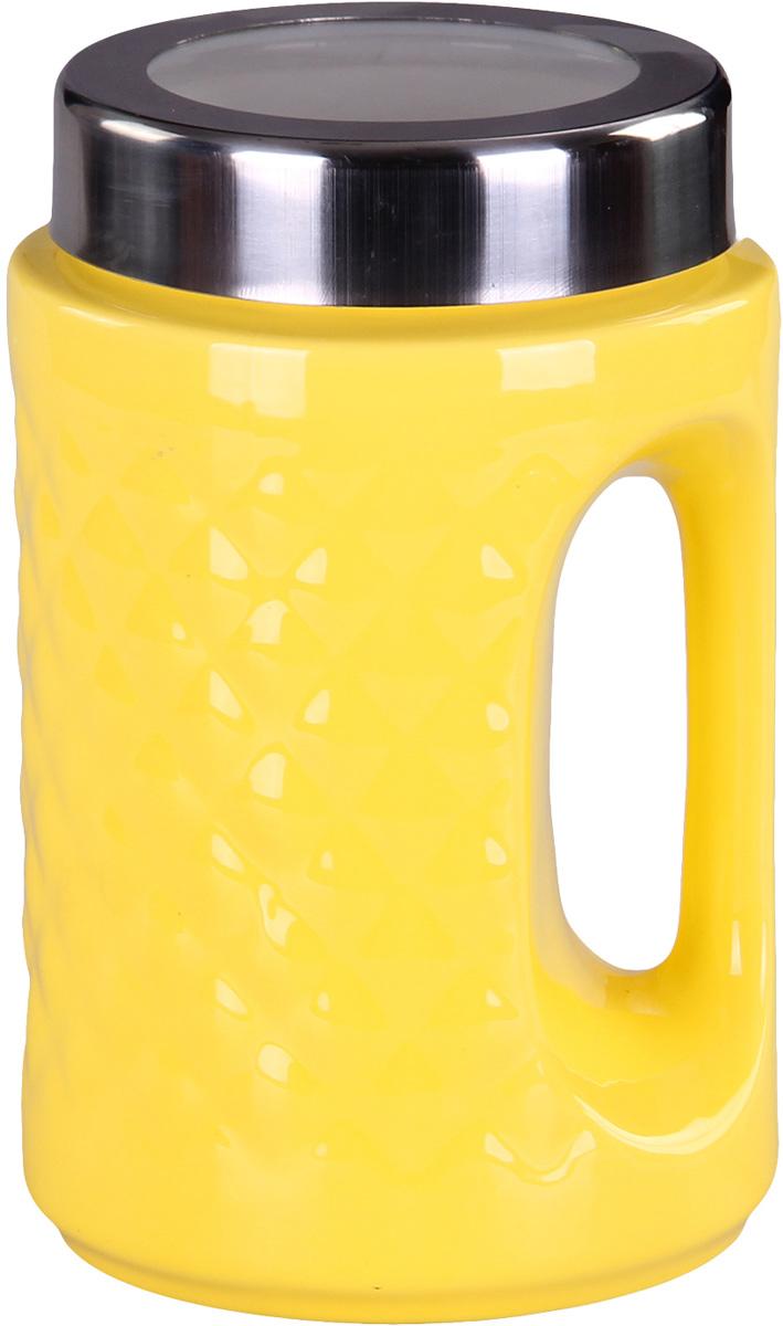 Банка для сыпучих продуктов Patricia. IM99-5239IM99-5239Банкадля сыпучих продуктов Patricia с ручкой, выполнена из керамики высокого качества. В ней можно хранить как соль или сахар, так и различные крупы.