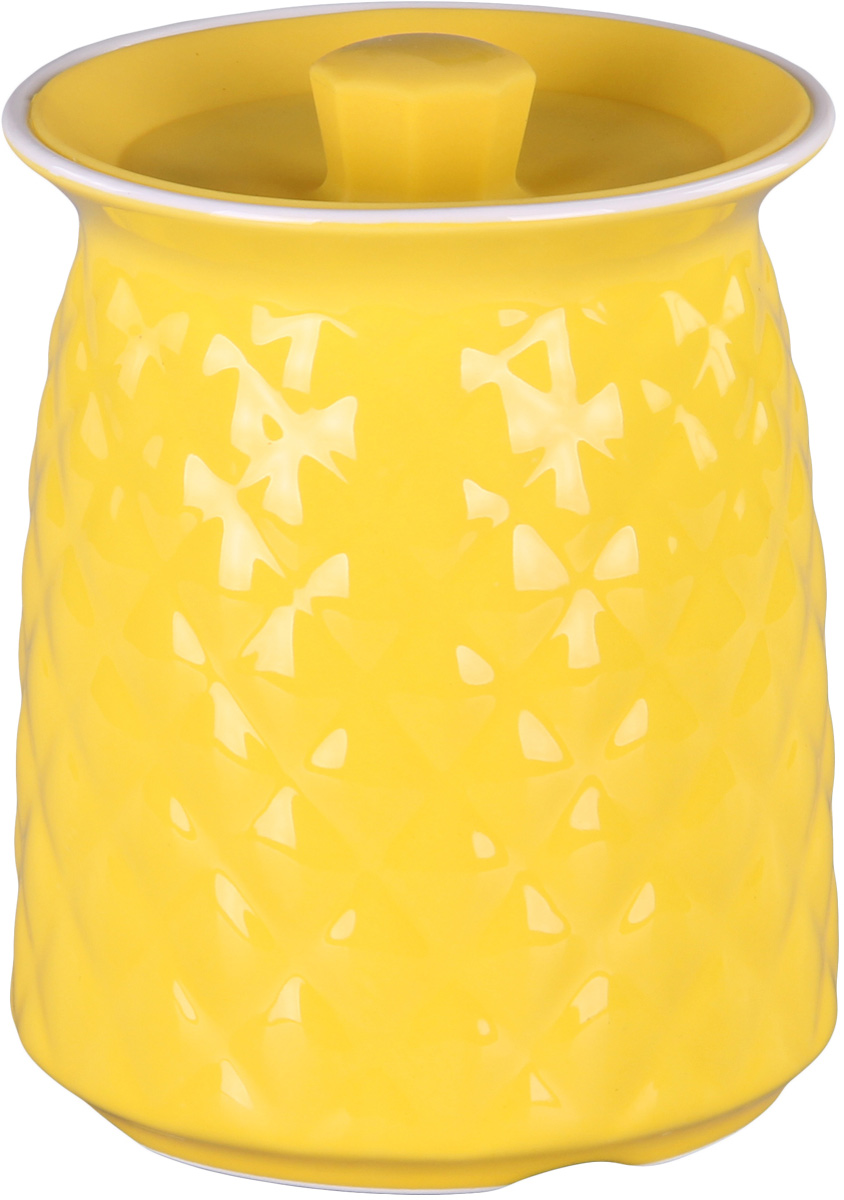 Банка для сыпучих продуктов Patricia. IM99-5249IM99-5249Банкадля сыпучих продуктов Patricia выполнена из керамики высокого качества. В ней можно хранить как соль или сахар, так и различные крупы.
