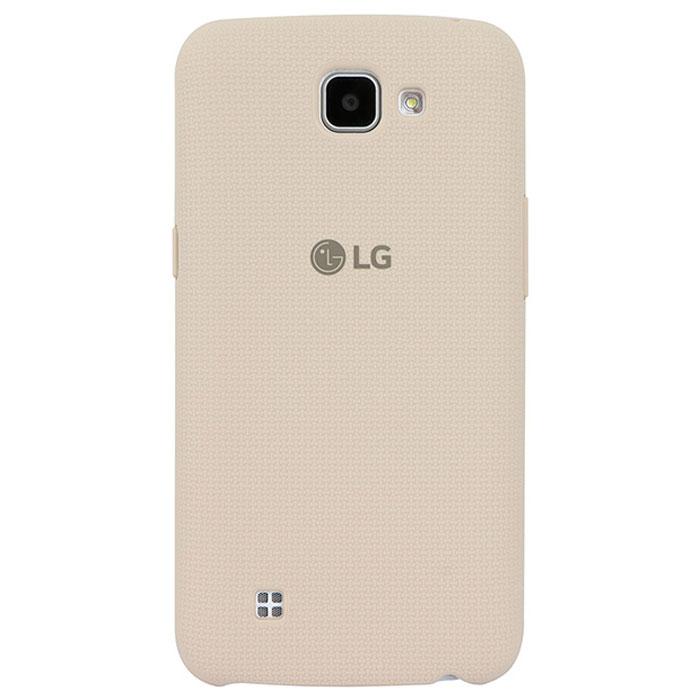 LG Back Cover чехол для K130, WhiteCSV-170.AGRAWHЧехол LG Back Cover для K130 имеет утонченный дизайн с тканевым узором на задней крышке. Он обеспечивает максимальное удобство в использовании, а прорезиненное покрытие из твердого пластика - дополнительную защиту от повреждений.