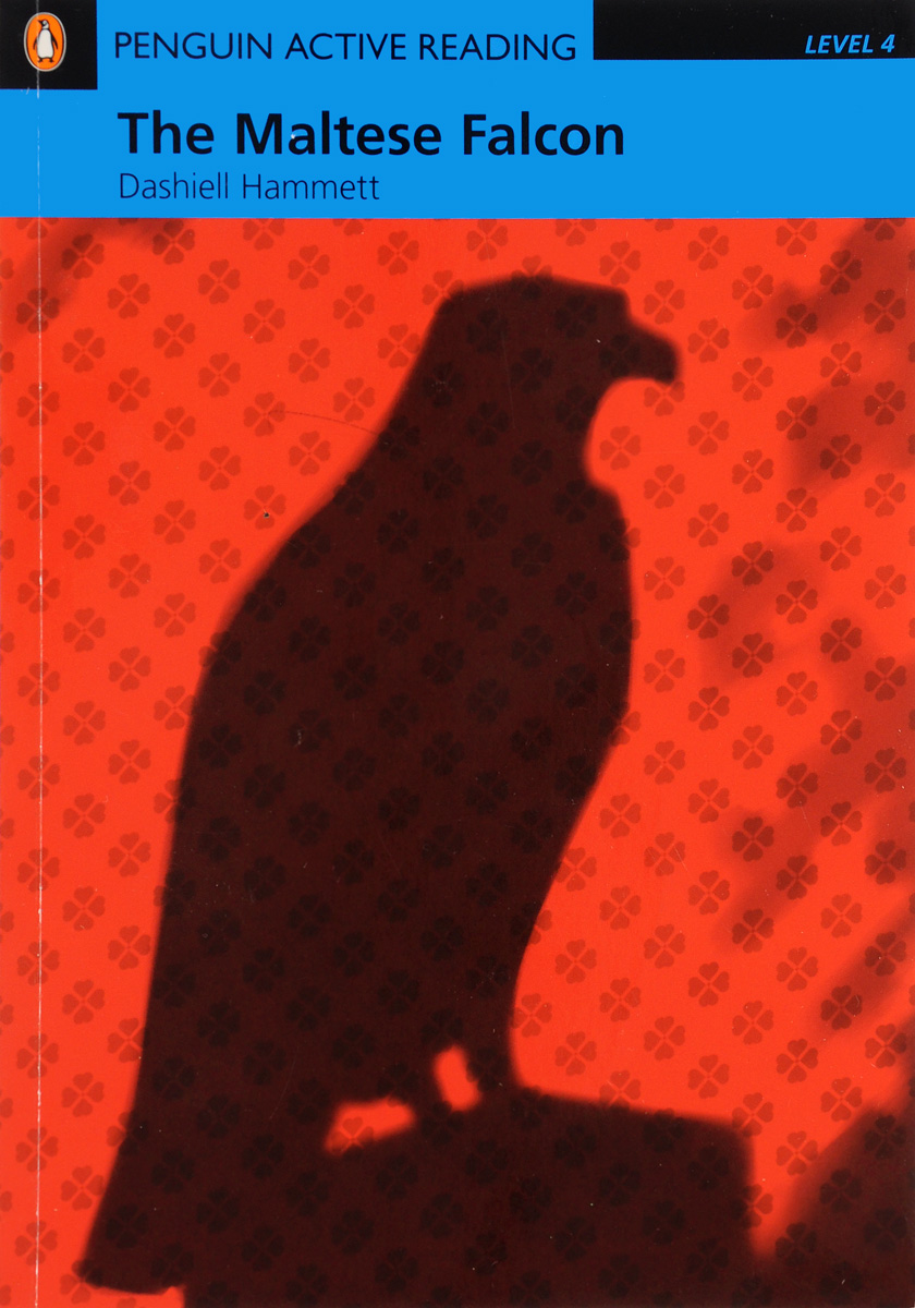 Penguin Learning Active Reading 4: The Maltese Falcon Book with Audio CD / CD-ROM team up 1 sb reader with audio cd