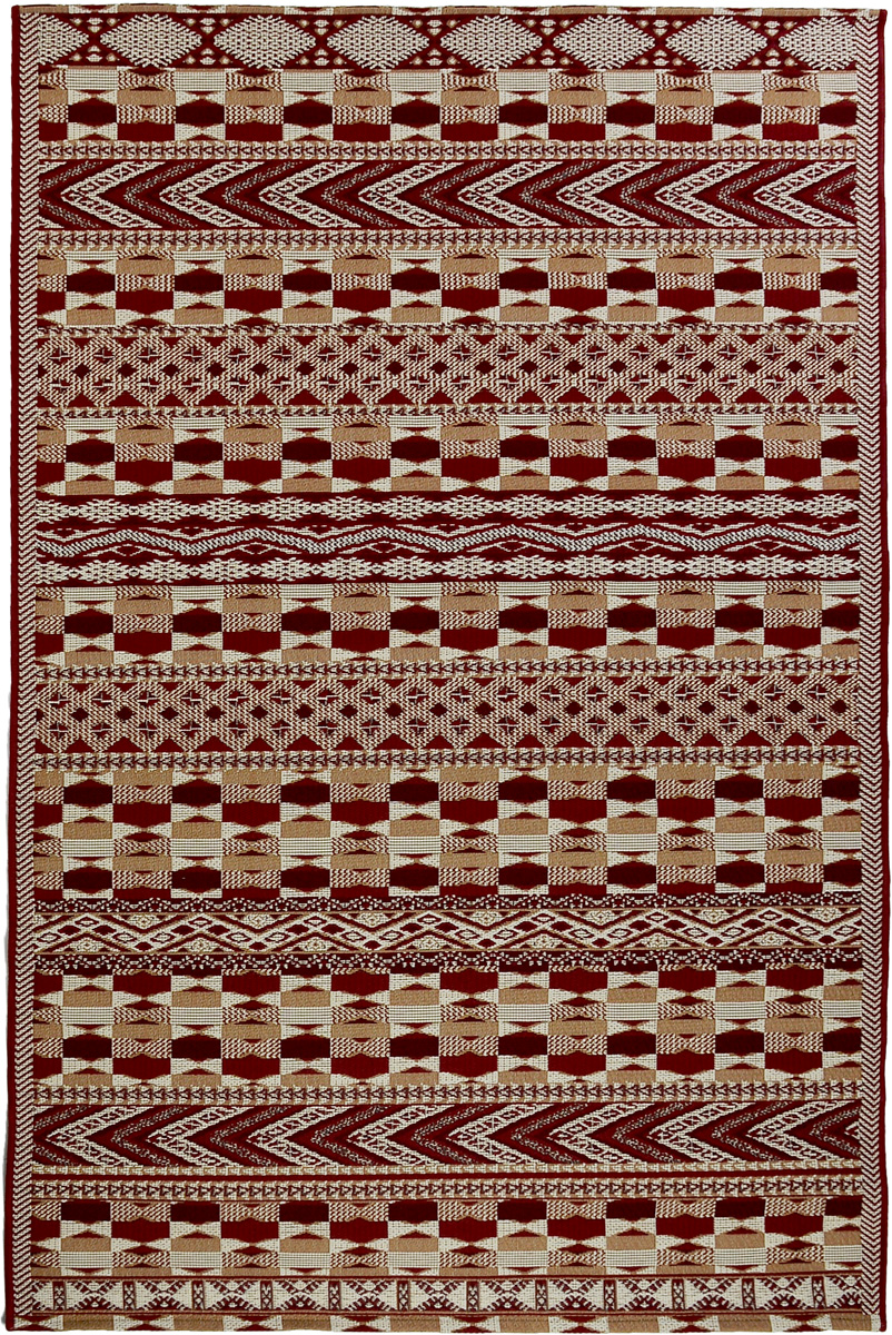 Ковер Oriental Weavers Карлуччи, цвет: красный, 120 х 180 см
