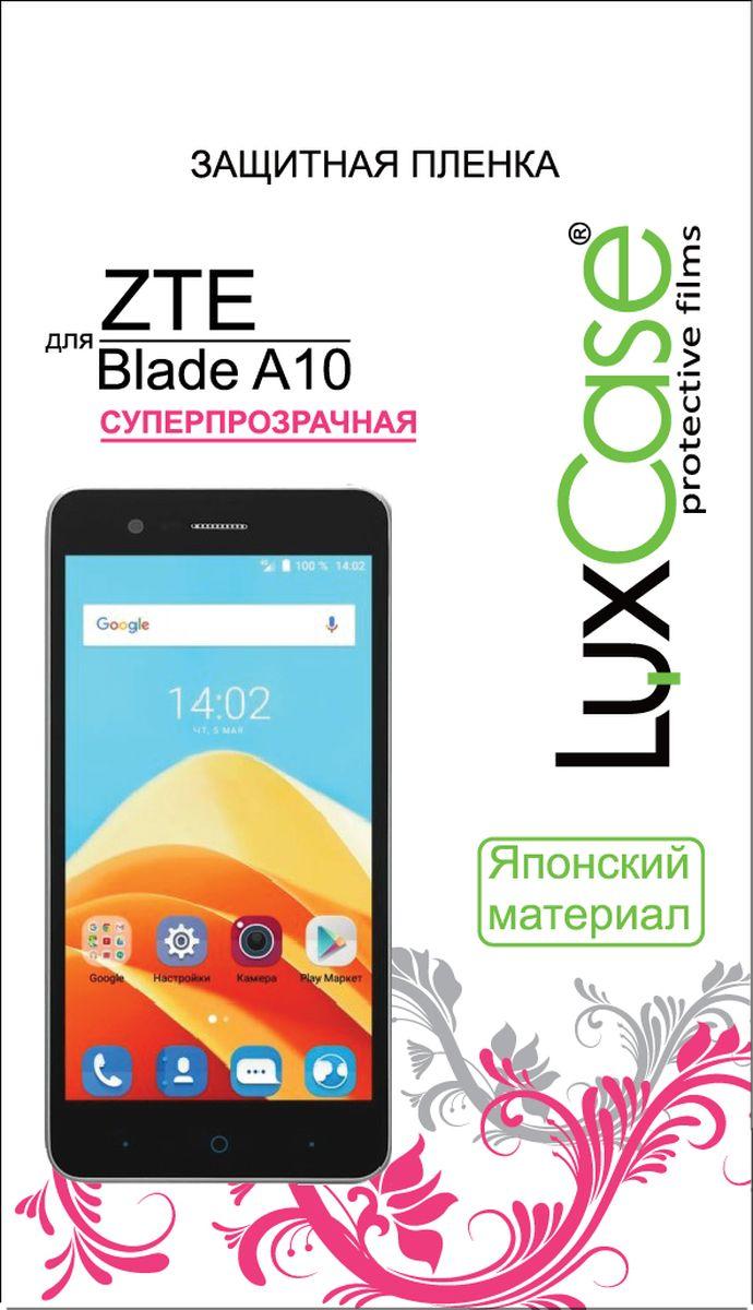 LuxCase защитная пленка для ZTE Blade A510, суперпрозрачная luxcase защитная пленка для zte blade a910 суперпрозрачная
