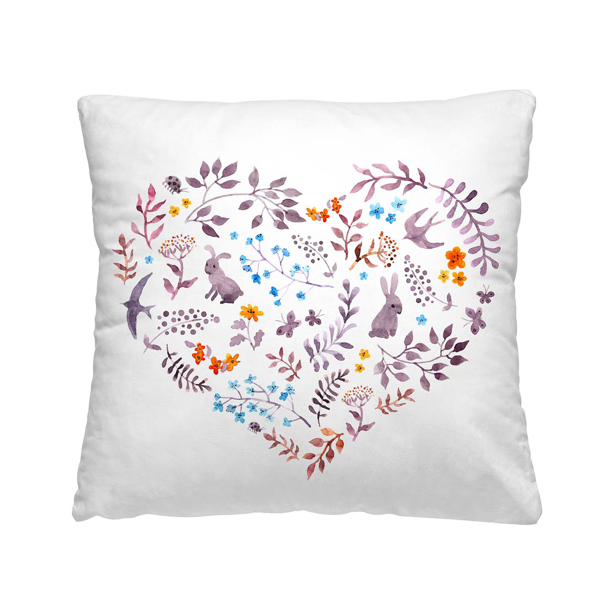 Подушка декоративная Волшебная ночь Сердце, 40х40 см197