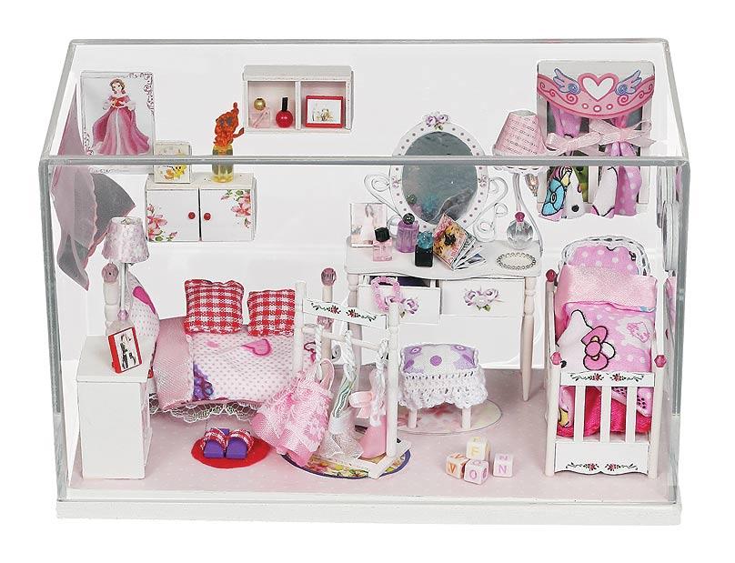 Набор для создания миниатюры Белоснежка  Комната принцессы , 9,5 х 20,5 х 12,4 см - Игрушки своими руками