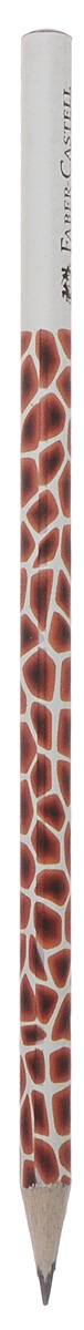 Faber-Castell Чернографитовый карандаш Triangular цвет корпуса белый коричневый мотив жираф118368Чернографитовый карандаш Faber-Castell Triangular станет не только идеальныминструментом для письма, рисования или черчения, но и дополнит ваш имидж.Трехгранный корпус выполнен из натуральной древесины с бело-чернымпокрытием. Высококачественный прочный грифель не крошится и не ломаетсяпри заточке. Качественная мягкая древесина обеспечивает хорошее затачивание.Степень твердости - B.