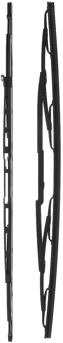 Щетка стеклоочистителя Bosch 909, каркасная, длина 55 см, 2 шт щетка стеклоочистителя bosch 601 каркасная 575 мм 400 мм 2 шт
