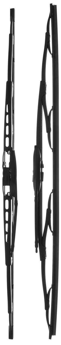 Щетка стеклоочистителя Bosch 609, каркасная, длина 60 см, 2 шт щетка стеклоочистителя bosch 601 каркасная 575 мм 400 мм 2 шт