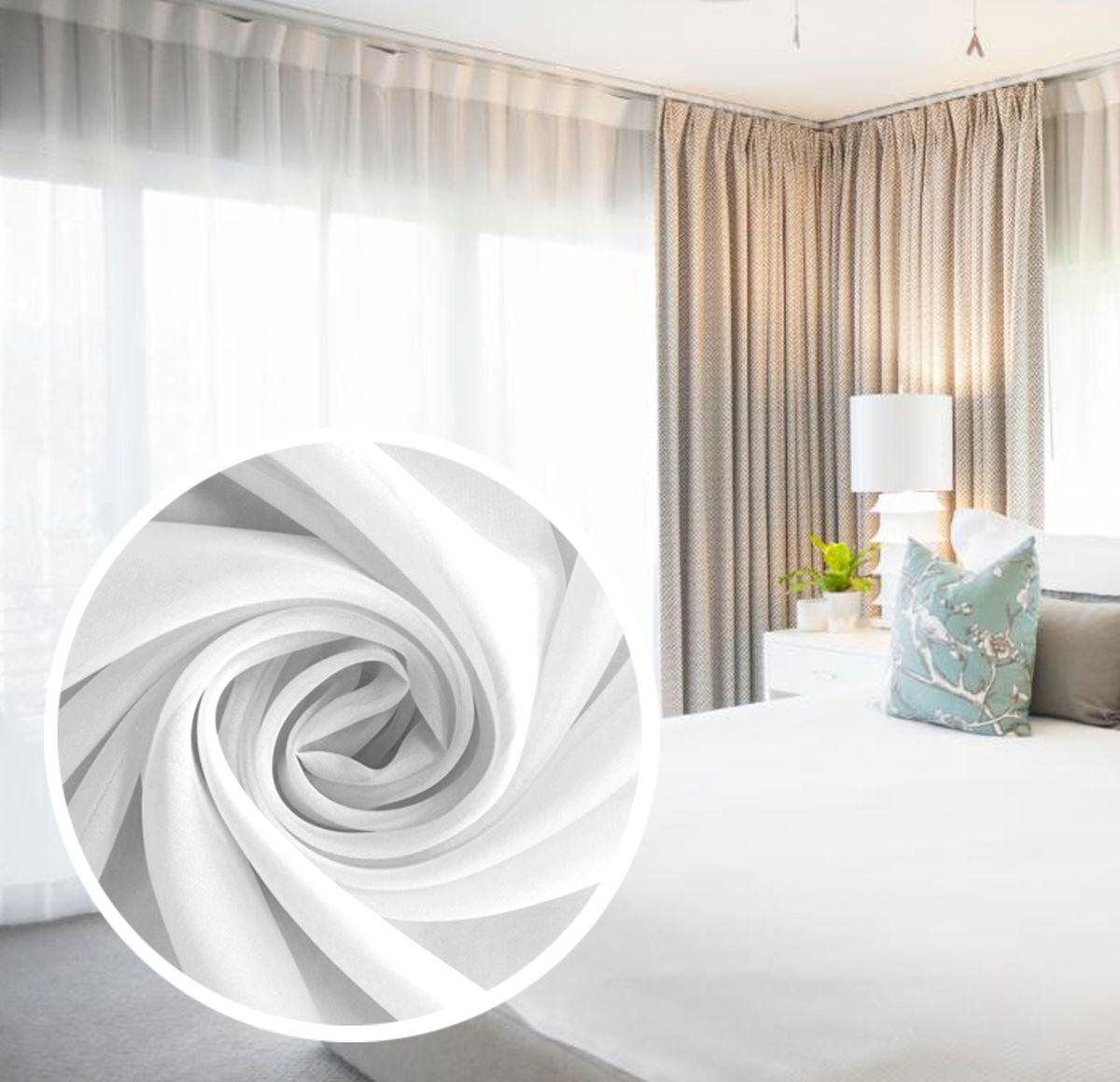 Вуаль Amore Mio Однотонная, на ленте, цвет: белый, высота 270 см. 7197871978Amore Mio - однотонная легкая вуаль нежного цвета в классическом исполнении. выполнена из полиэстера.Вуаль незаменимая деталь в оформлении окон спальни и гостиной. Она отлично сочетается практически с любыми портьерами. Изделие на шторной ленте, готово к использованию. Размер: 300 х 270 см.