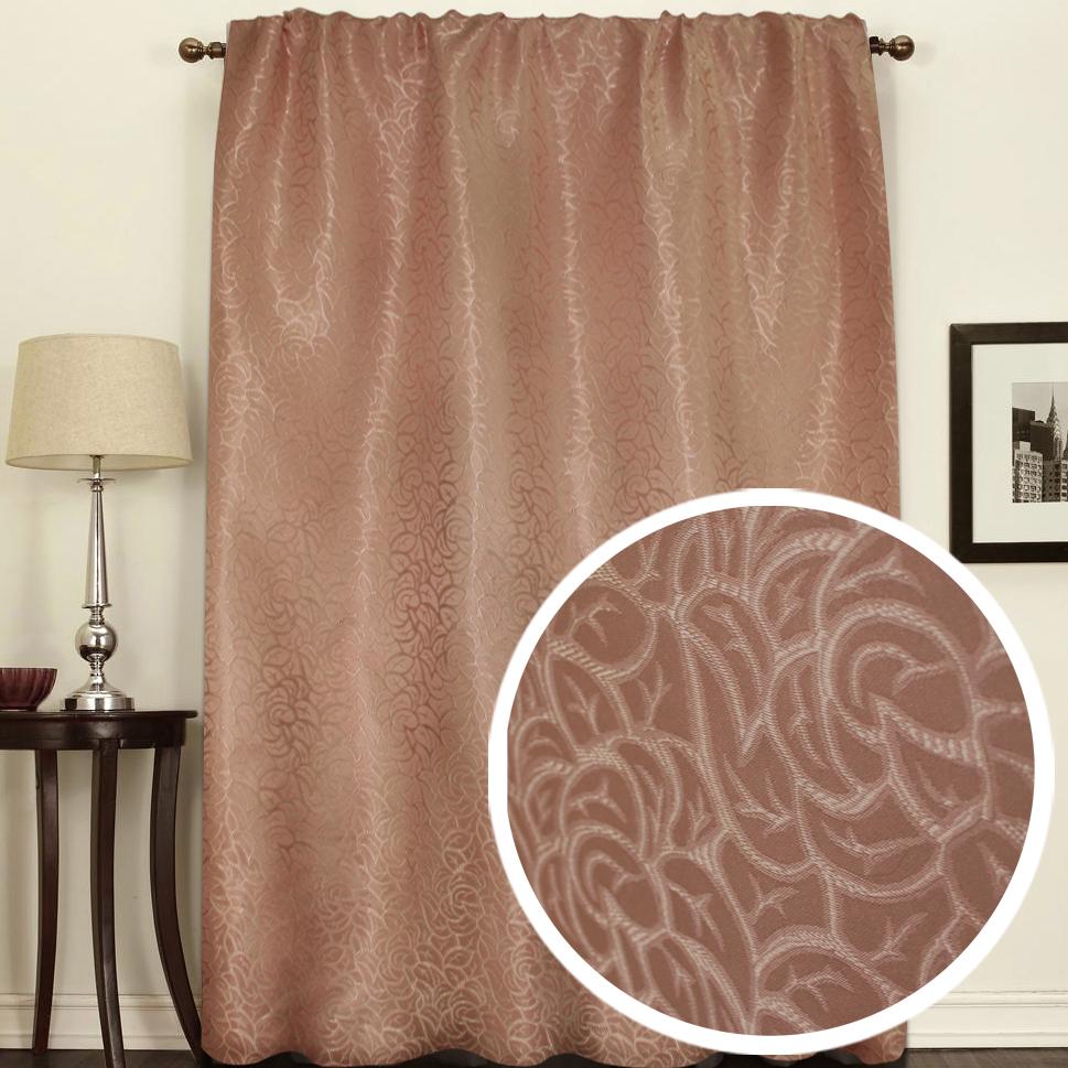 Штора Amore Mio Розы, на ленте, цвет: коричневый, высота 270 см75320Штора Amore Mio как будто состоит из множества роз. Изысканный рисунок в сочетании с благородный цветом украсит любое окно. Изделие изготовлено из 100% полиэстера. Полиэстер - вид ткани, состоящий из полиэфирных волокон. Ткани из полиэстера легкие, прочные и износостойкие. Такие изделия не требуют специального ухода, не пылятся и почти не мнутся.Крепление к карнизу осуществляется при помощи вшитой шторной ленты.