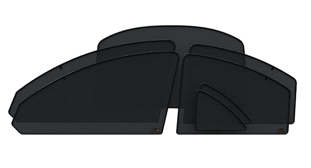 Защитный тонирующий экран EscO, полный комплект, на импортные авто, затемнение 5-10% шторки на окна от солнца