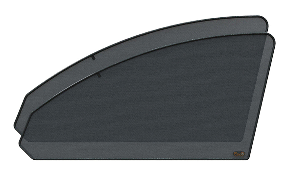 Защитный тонирующий экран EscO, передний комплект, на импортные авто, затемнение 15-25% шторки на окна от солнца