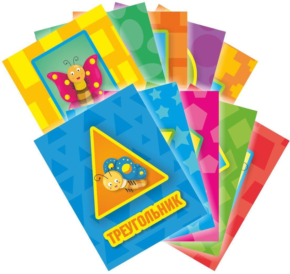 Издательская группа Квадра Обучающие карточки Фигуры