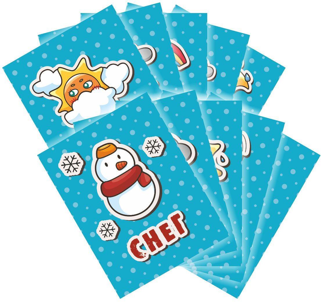 Издательская группа Квадра Обучающие карточки Погода