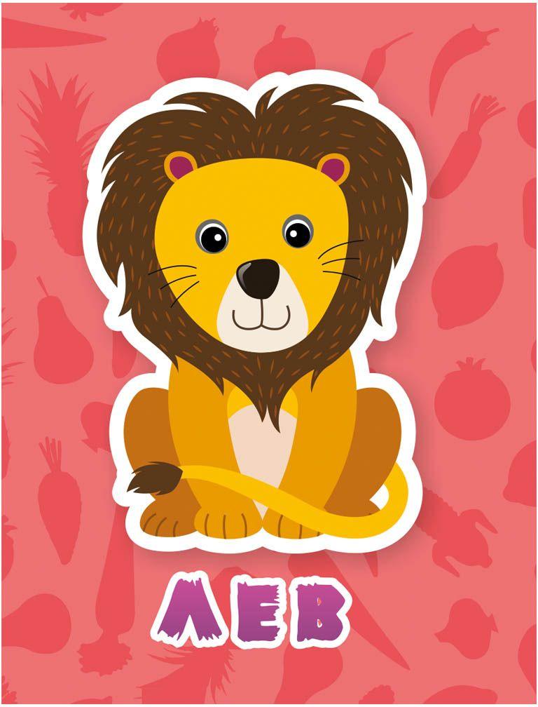 Издательская группа Квадра Обучающие карточки Африканские животные Издательская группа