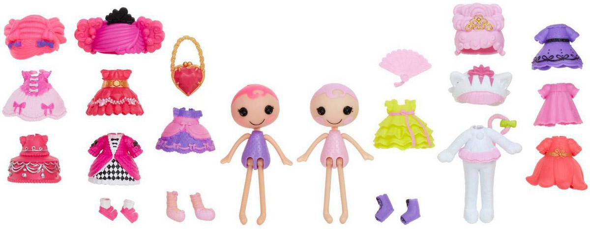 Lalaloopsy Мини-куклы с аксессуарами Confetti Carnivale & Jewel Sparkles lalaloopsy кукла отличница