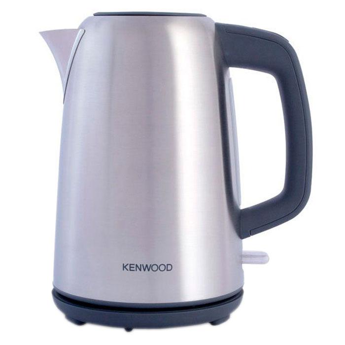 Kenwood SJM490 электрический чайник0W21011002Купить Kenwood SJM 490 – это заплатить невысокую цену за надежный и привлекательный чайник. Его корпус устойчив к различным царапинам, ведь изготовлен он из нержавеющей стали. Дизайн устройства элегантный и придает чайнику стильный внешний вид. Идеально смотрится совмещение глянцевой и матовой стали.В конструкции чайника предусмотрен скрытый нагревательный элемент, который имеет гораздо длительный срок эксплуатации, чем открытый. Нагревательный элемент не контактирует с водой, поэтому накипь в чайнике SJM490 образуется гораздо меньше. Обеспечивается очистка диска максимально легкая и быстрая. Такой чайник прослужит вам долгое время. Быстрое закипание обеспечивается высокой мощностью устройства в 2200 Вт.Чайник имеет в комплекте сетчатый фильтр, который задерживает частички накипи. Благодаря чему в чашку с напитком не попадет известковый налет. Вы сможете легко открывать чайник даже одной рукой, поскольку откидная крышка имеет удобную конструкцию. Дизайн носика позволит вам без проливаний разлить горячую воду по чашкам. Для быстрого определения уровня воды чайник Kenwood SJM 490 оборудовали специальным индикатором.