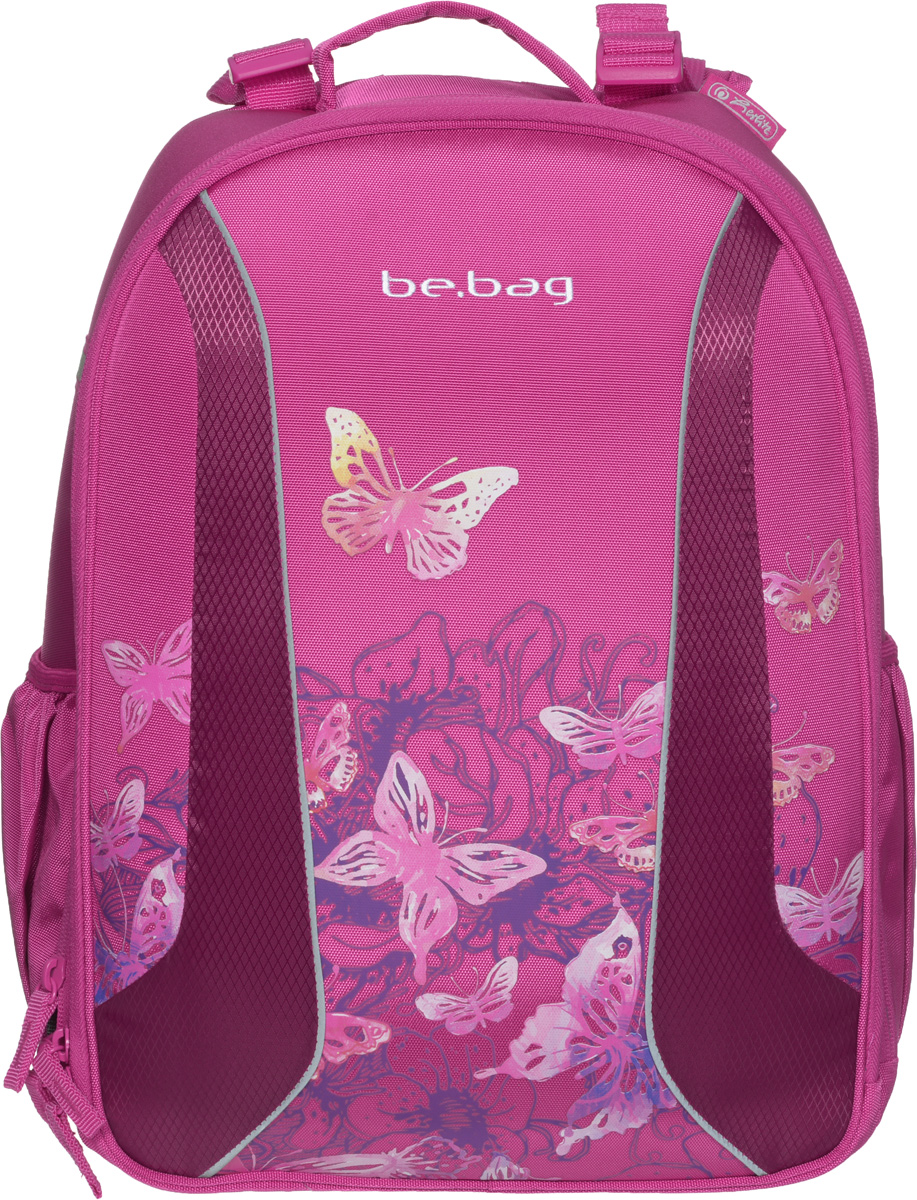 Herlitz Ранец школьный Be Bag Watercolor Butterfly herlitz ранец школьный smart butterfly