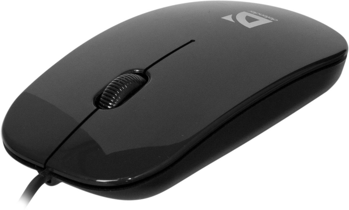 Defender NetSprinter MM-440, Black проводная оптическая мышь
