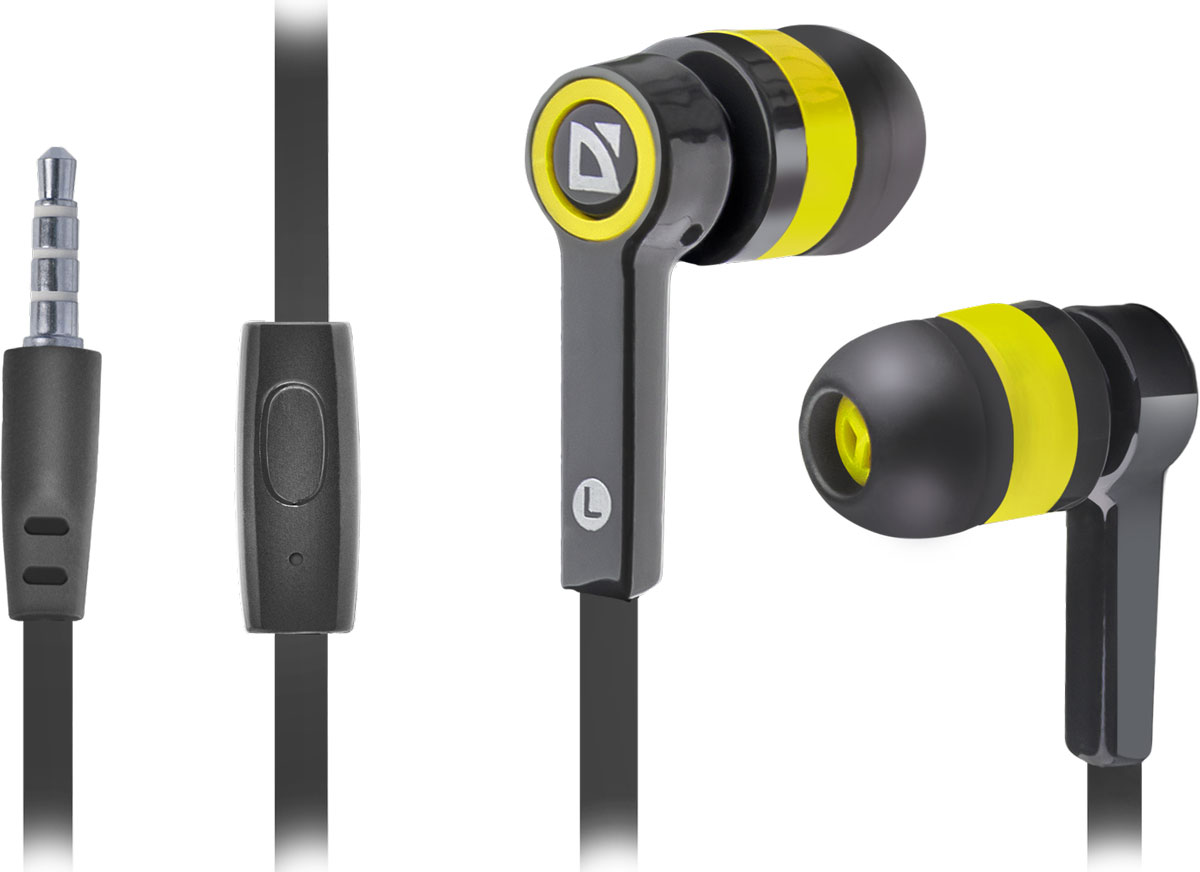 Defender Pulse 420, Black Yellow гарнитура микрофон defender mic 142 64142