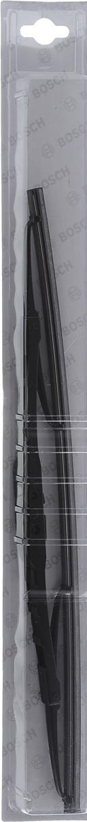 Щетка стеклоочистителя Bosch 40C, каркасная, длина 40 см, 1 шт3397004667Универсальная щетка Bosch 40C - функциональныйстеклоочиститель с металлическими скобами, которыйхарактеризуется хорошей эффективностью очистки икачеством. Каркас щетки выполнен из металла сантикоррозийным покрытием и имеет форму,способствующую уменьшению подъемной силы навысоких скоростях. Натуральная резина щетки сграфитовым напылением обеспечивает тщательностьочистки. Щетка имеет крепление крючок. Быстрыймонтаж, благодаря предварительно установленномууниверсальному адаптеру Quick Clip.