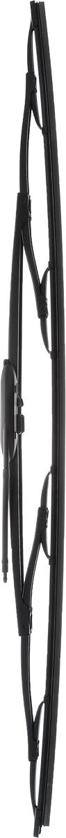 Щетка стеклоочистителя для грузовых автомобилей Bosch N74, каркасная, длина 70 см, 1 шт3397004080Щетка Bosch N74, выполненная по современнойтехнологии из высококачественных материалов,оптимально подходит для заменыоригинальных щеток, установленных на конвейере.Обеспечивает идеальную очистку стекла в любую погоду.TWIN - серия классических каркасных щеток откомпании Bosch. Эти щетки имеют полностьюметаллический каркас с двойной защитой откоррозии и сверхточный профиль резинового элемента сдвумя чистящими кромками.